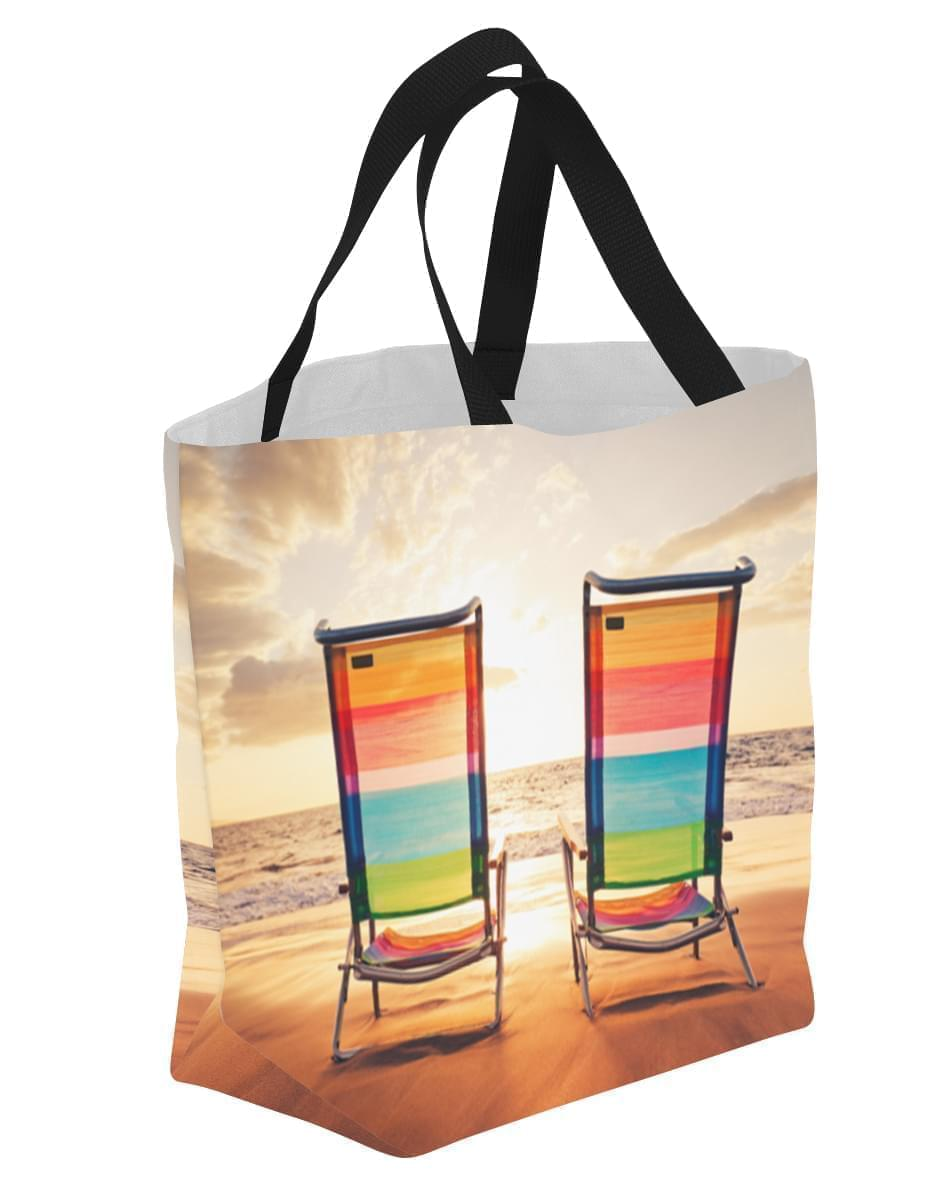 Convention Expo Tote Bag With Dye Sublimation All Over ...