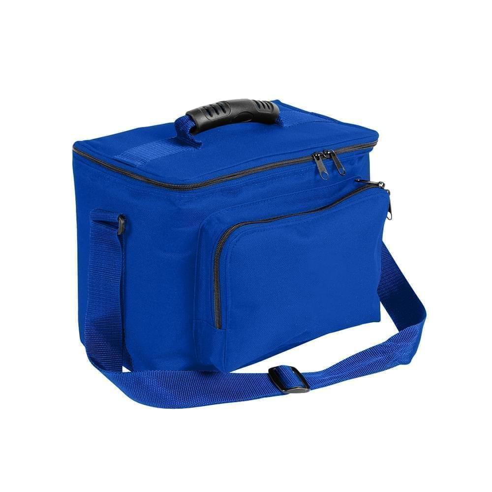 USA Made Nylon Poly Lunch Coolers, Royal Blue-Royal Blue, 11001161-A03
