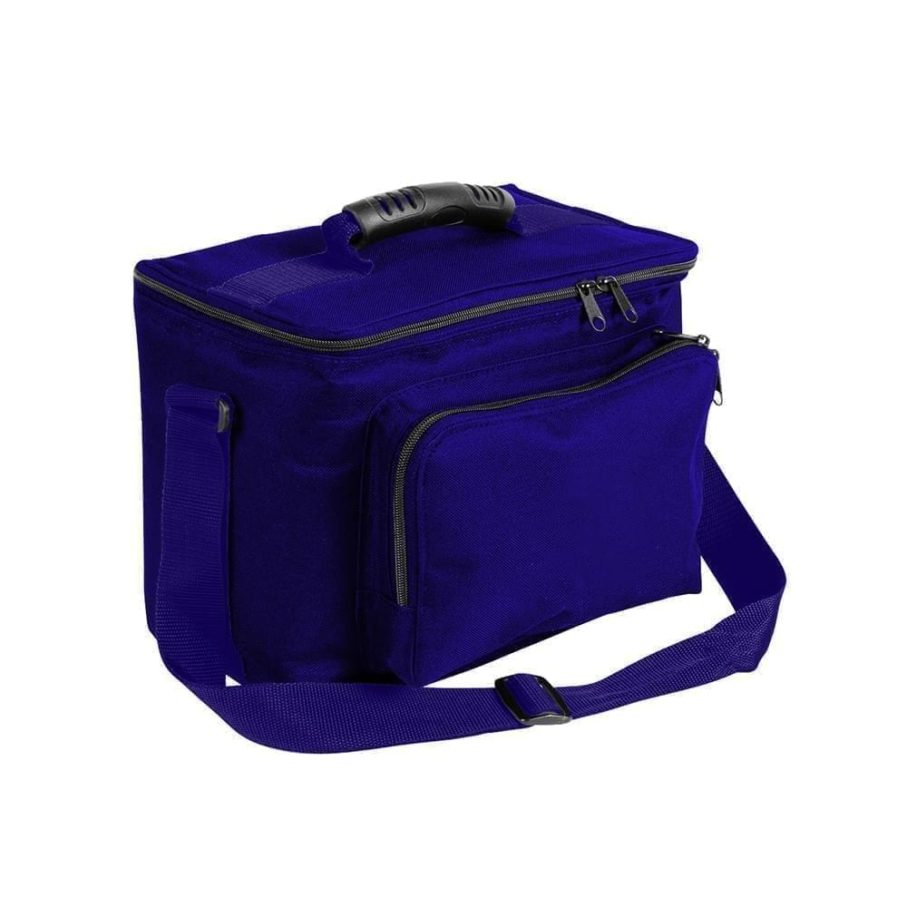 USA Made Nylon Poly Lunch Coolers, Purple-Purple, 11001161-AY1