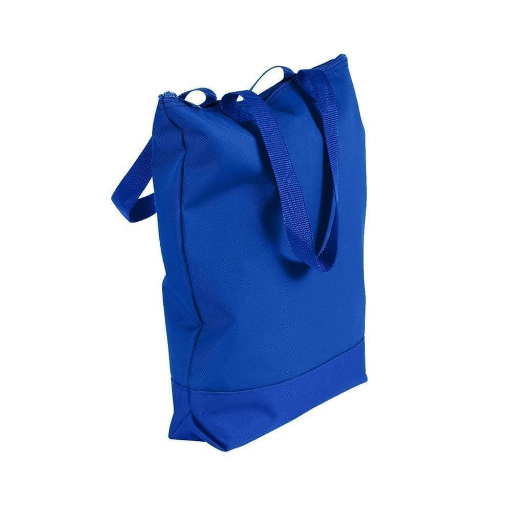 USA Made Poly Notebook Tote Bags, Royal Blue-Royal Blue, 1AAMX1UA03