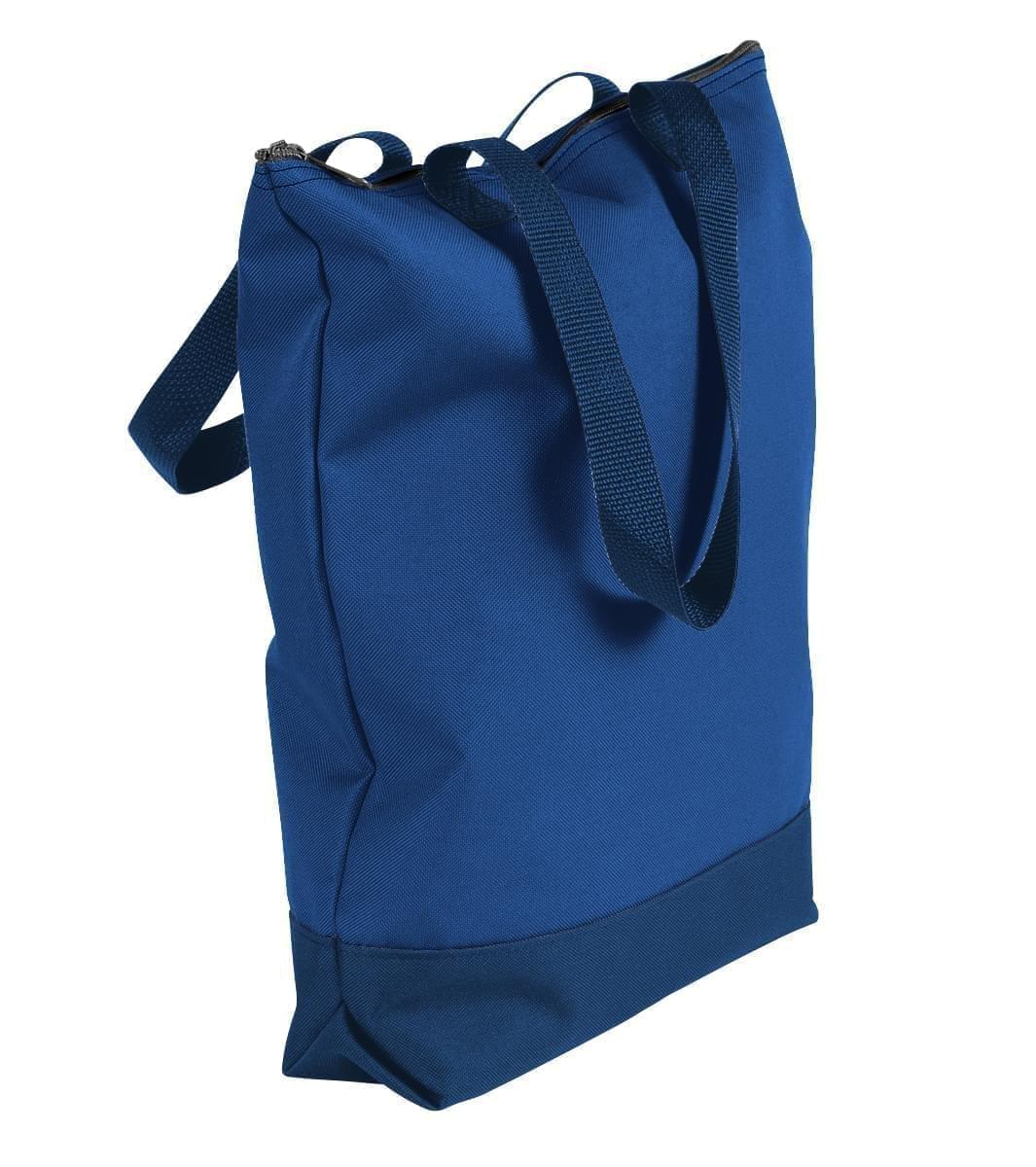 USA Made Canvas Portfolio Tote Bags, Royal Blue-Navy, 1AAMX1UAFZ