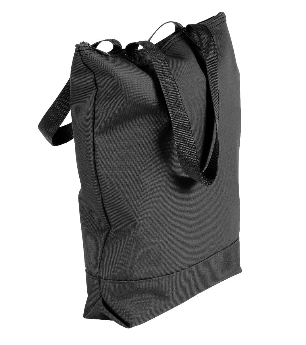 USA Made Canvas Portfolio Tote Bags, Black-Black, 1AAMX1UAHR