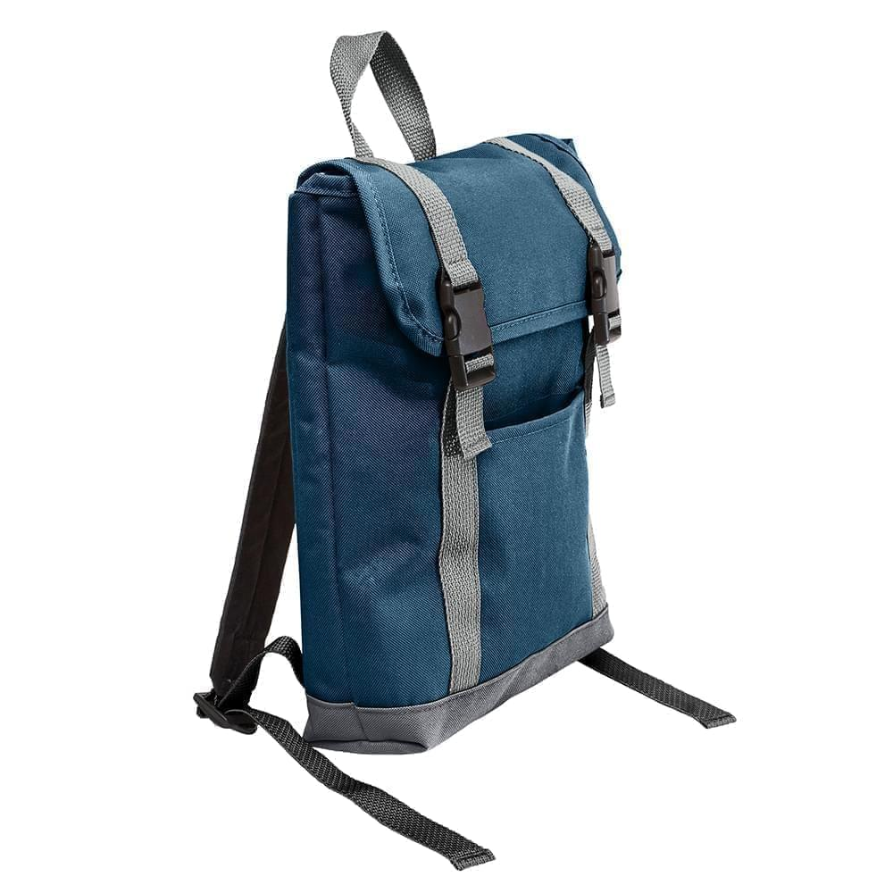 USA Made Canvas Small T Bottom Backpacks, 2001921-12C