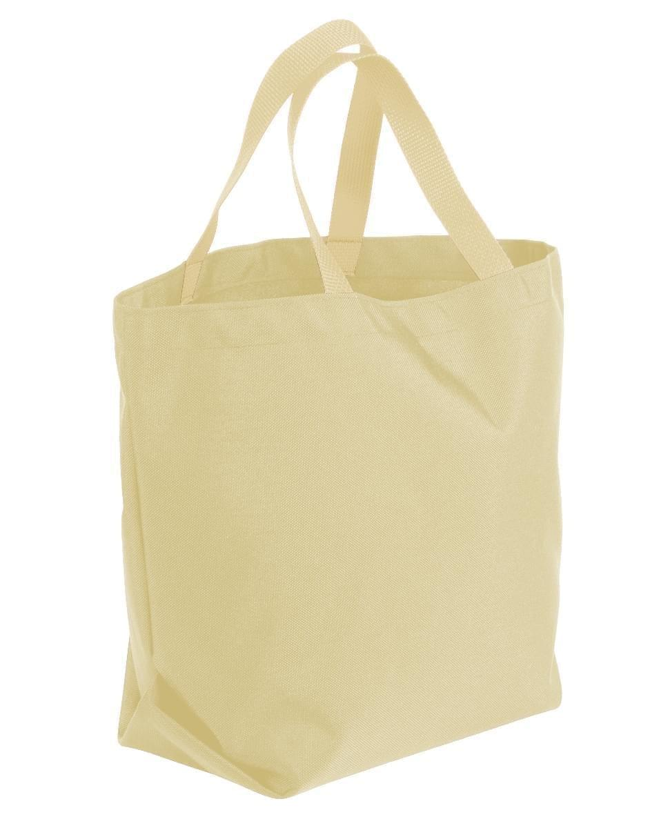 USA Made Canvas Grocery Tote Bags, Natural-Natural, 2BAD31UAKA