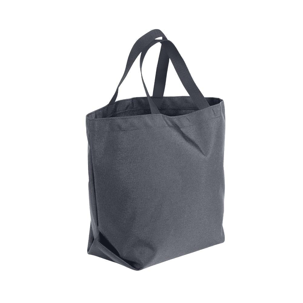 USA Made Poly Convention Expo Tote Bags, Graphite-Graphite, 2BAD31UART