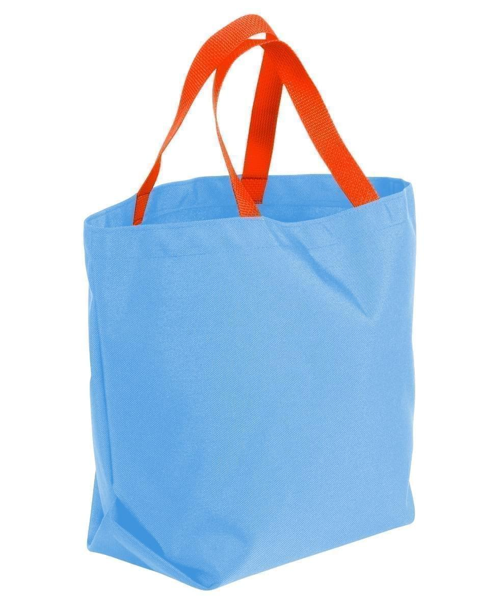 USA Made Poly Convention Expo Tote Bags, Columbia-Orange, 2BAD31UAU0