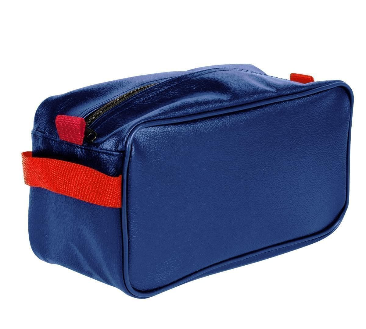 USA Made Cosmetic & Toiletry Cases, Royal Blue-Red, 3000996-A02