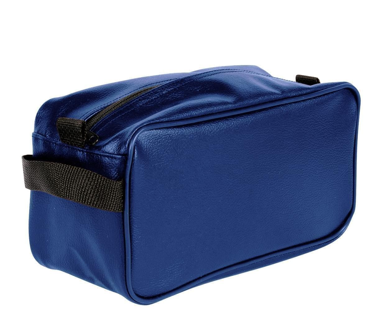 USA Made Cosmetic & Toiletry Cases, Royal Blue-Black, 3000996-A0R