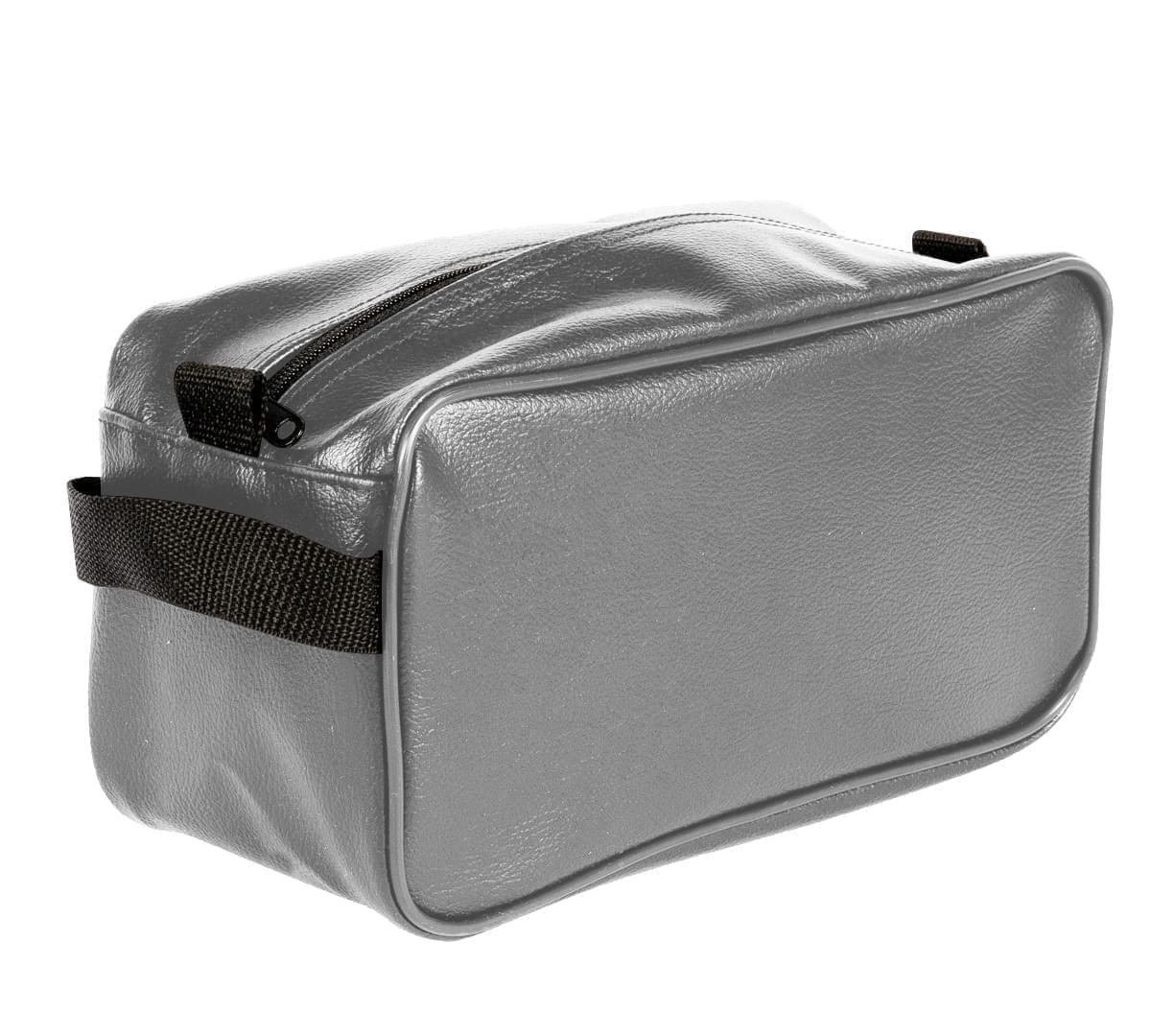 USA Made Cosmetic & Toiletry Cases, Grey-Black, 3000996-A1R