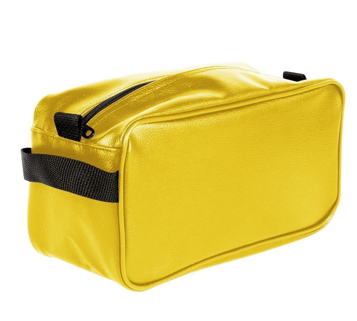 USA Made Cosmetic & Toiletry Cases, Gold-Black, 3000996-A4R