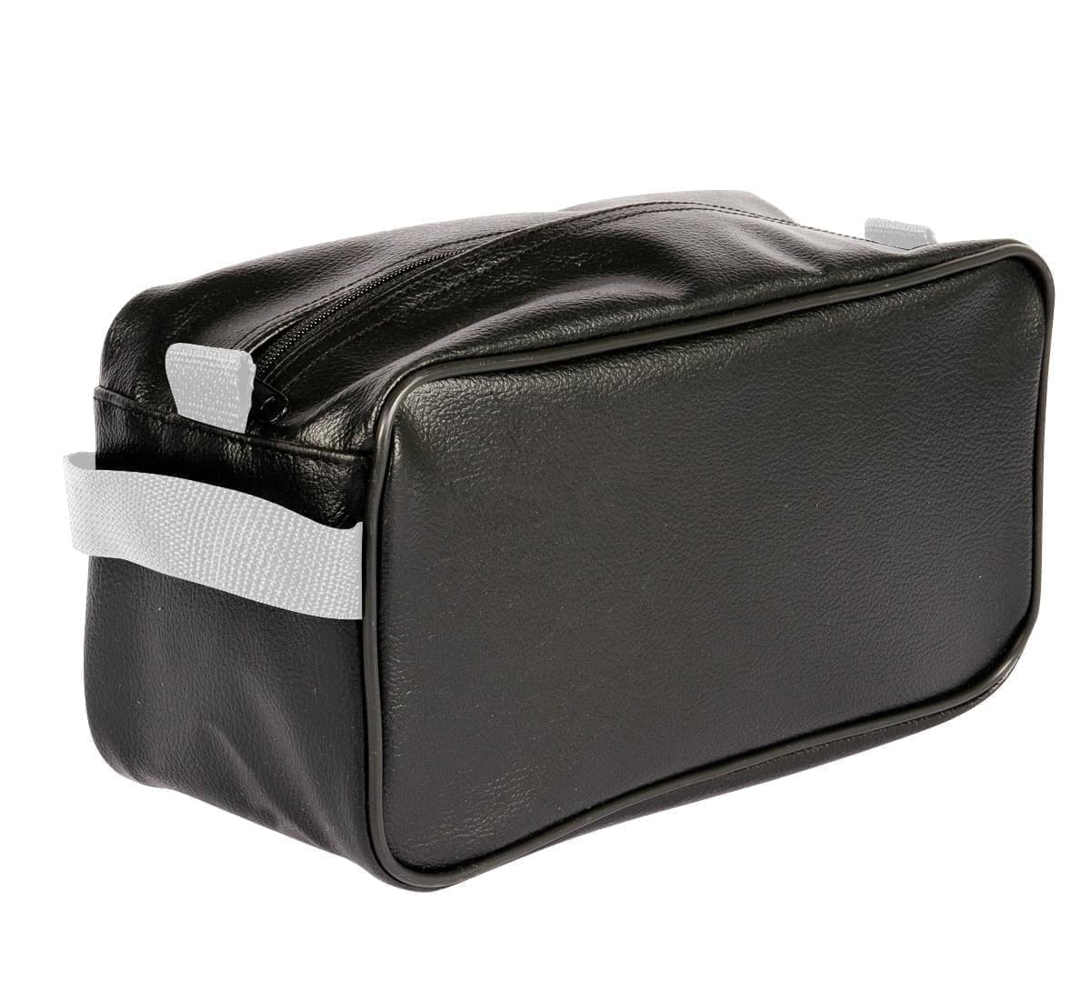 USA Made Cosmetic & Toiletry Cases, Black-White, 3000996-AO4