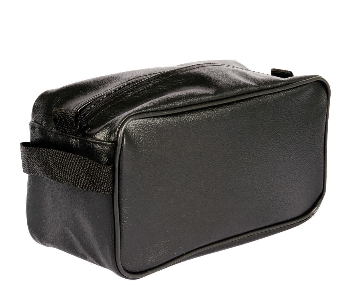 USA Made Cosmetic & Toiletry Cases, Black-Black, 3000996-AOR