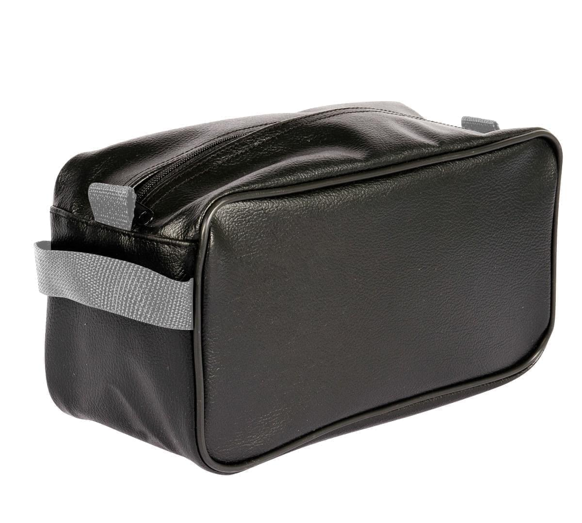 USA Made Cosmetic & Toiletry Cases, Black-Grey, 3000996-AOU