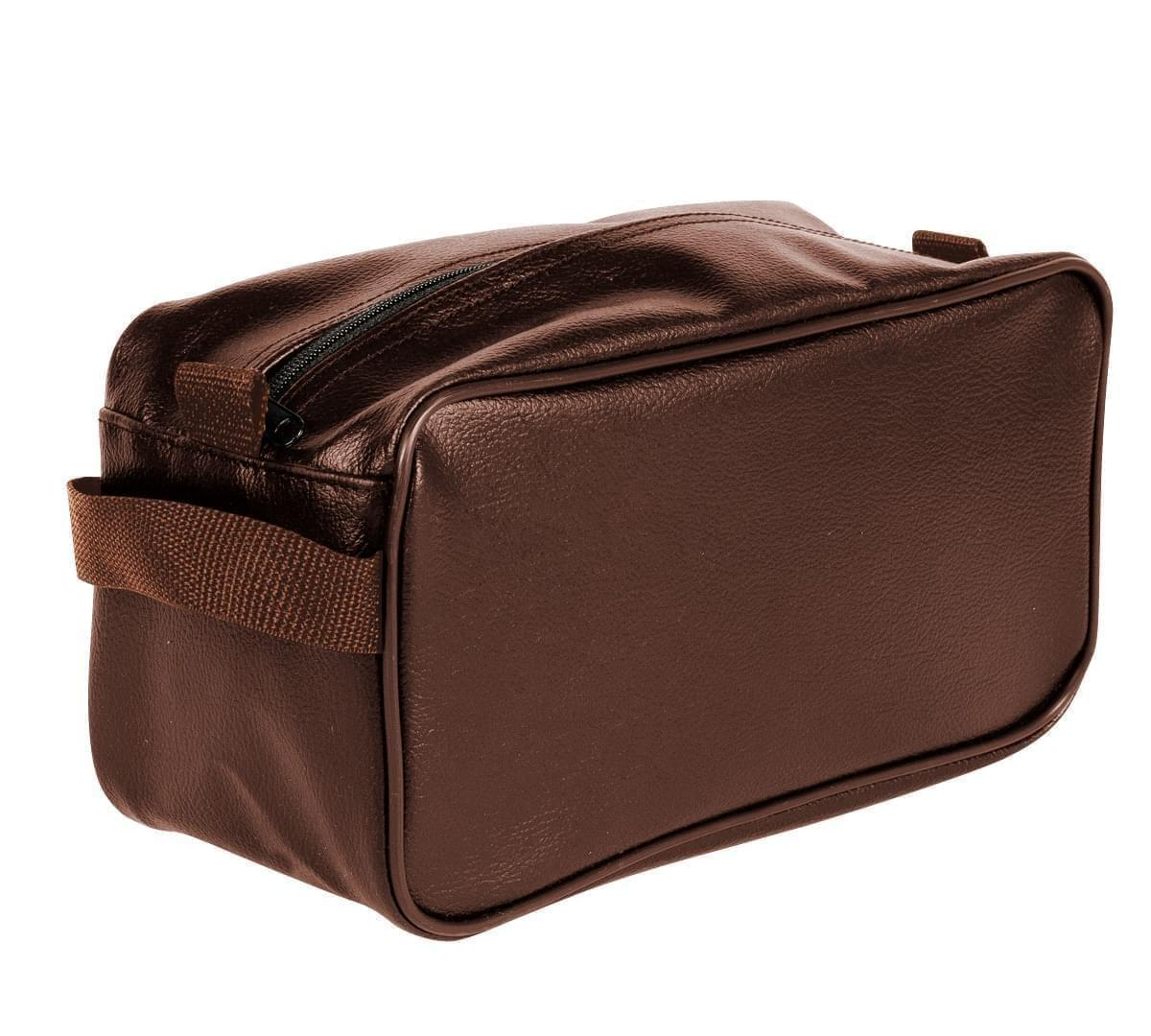 USA Made Cosmetic & Toiletry Cases, Brown-Brown, 3000996-APS