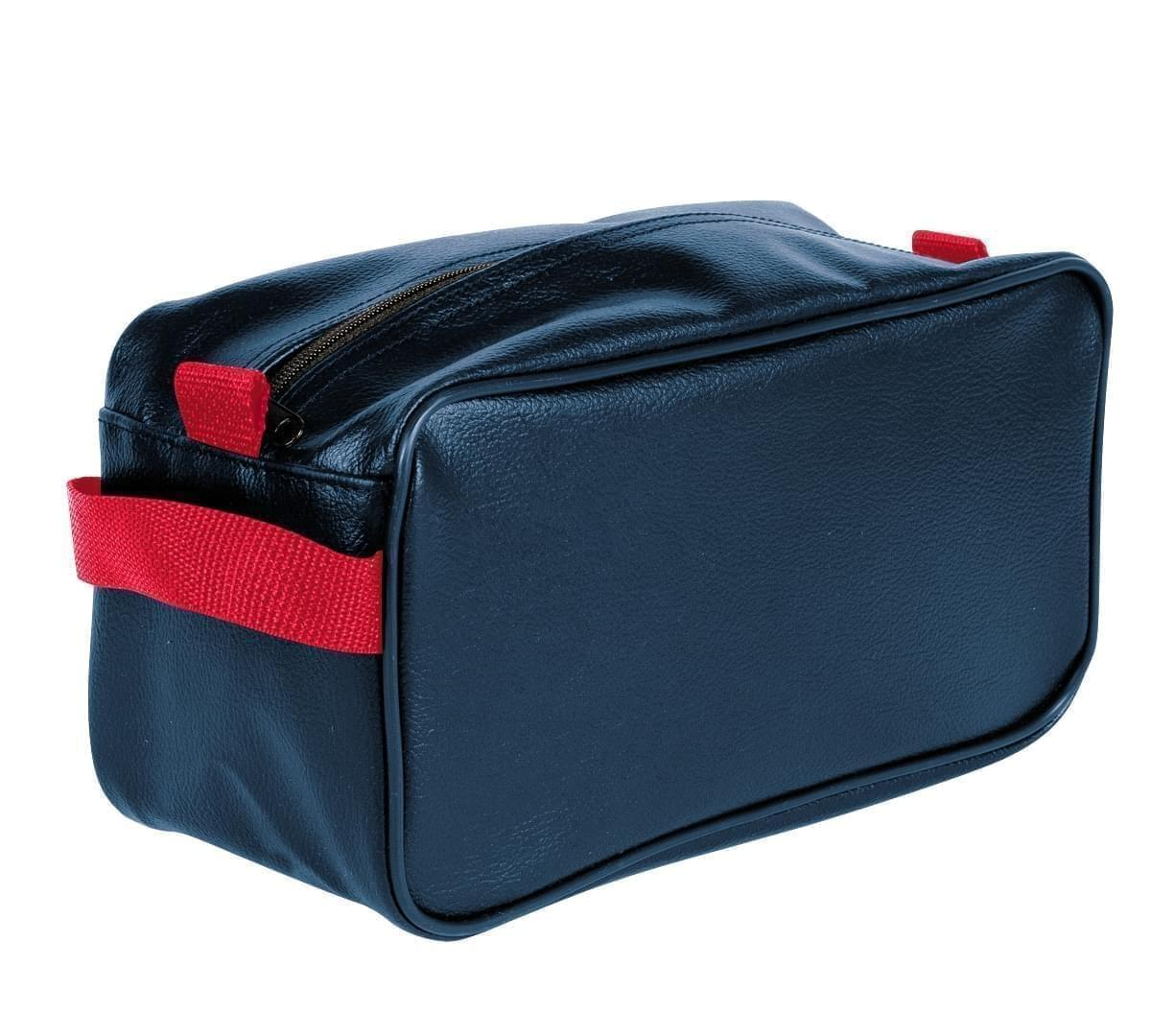 USA Made Cosmetic & Toiletry Cases, Navy-Red, 3000996-AW2