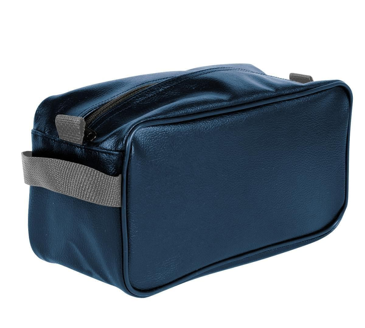 USA Made Cosmetic & Toiletry Cases, Navy-Graphite, 3000996-AWT