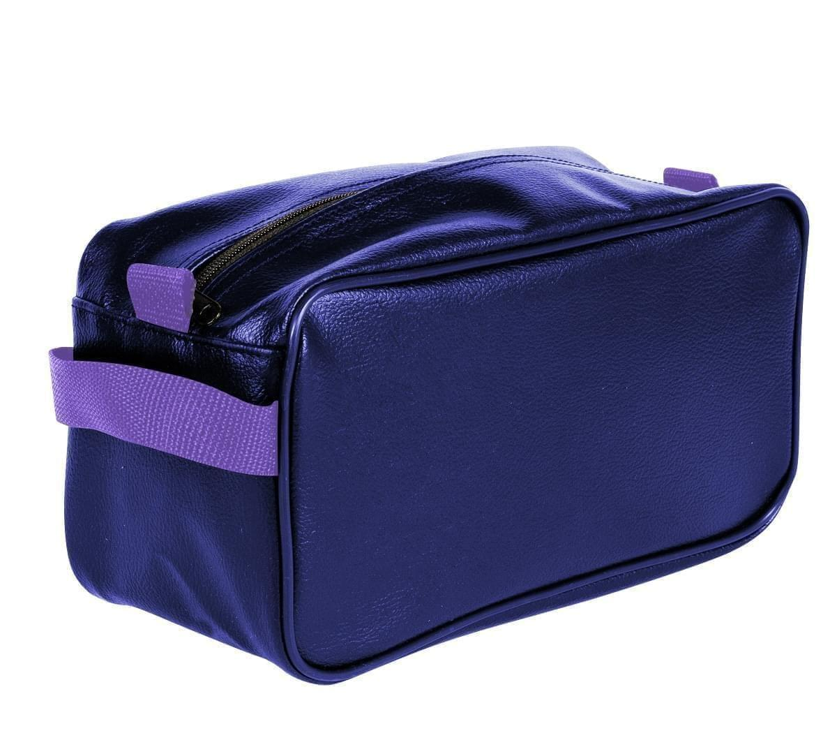 USA Made Cosmetic & Toiletry Cases, Purple-Purple, 3000996-AY1