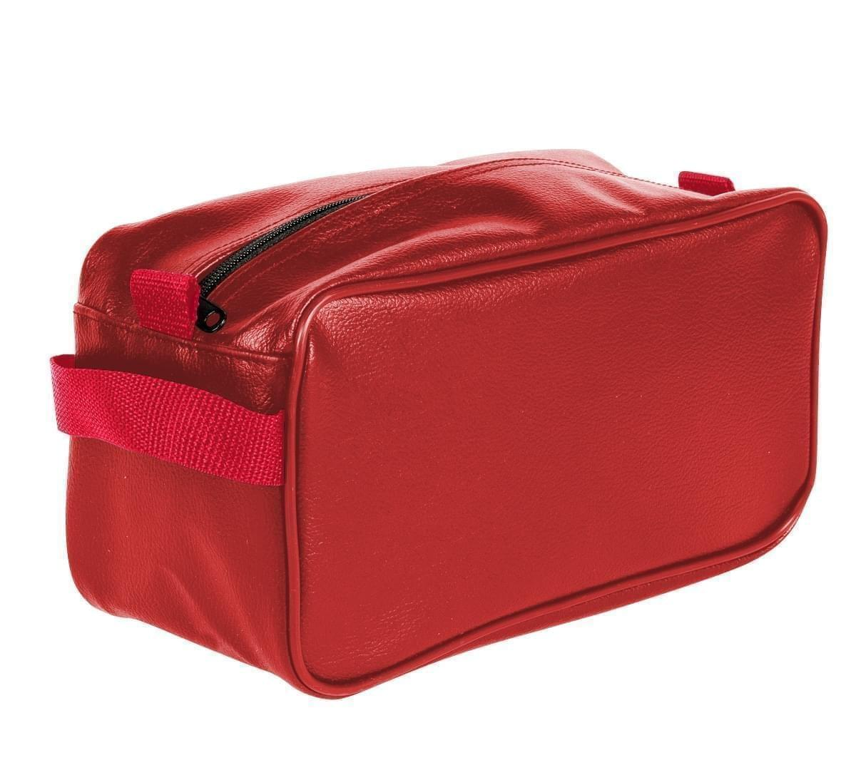 USA Made Cosmetic & Toiletry Cases, Red-Red, 3000996-AZ2