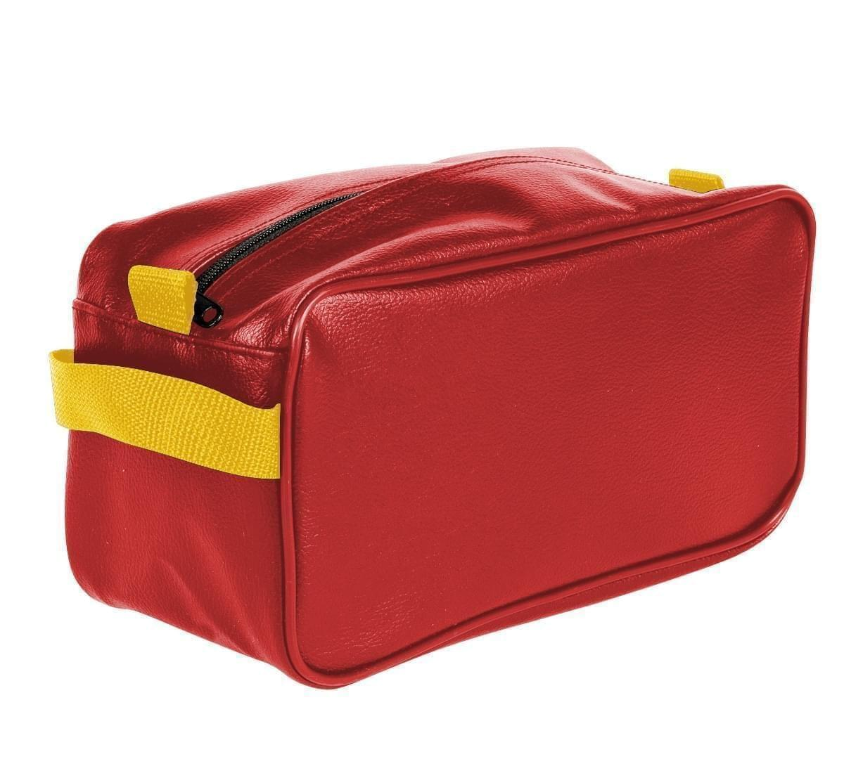 USA Made Cosmetic & Toiletry Cases, Red-Gold, 3000996-AZ5