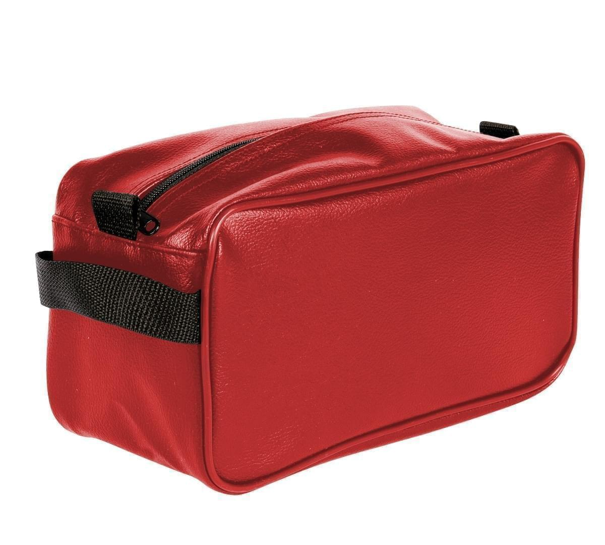 USA Made Cosmetic & Toiletry Cases, Red-Black, 3000996-AZR