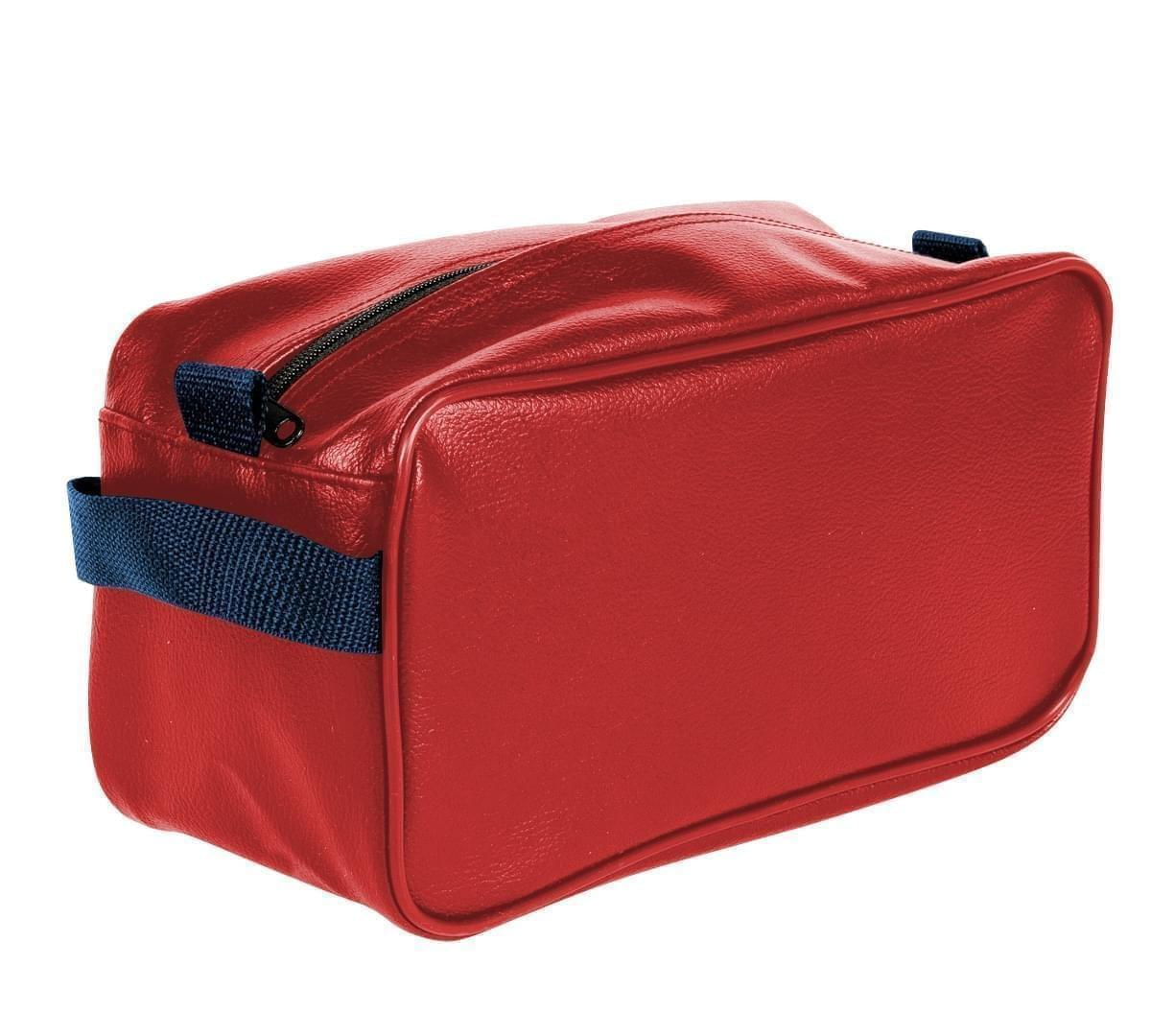 USA Made Cosmetic & Toiletry Cases, Red-Navy, 3000996-AZZ