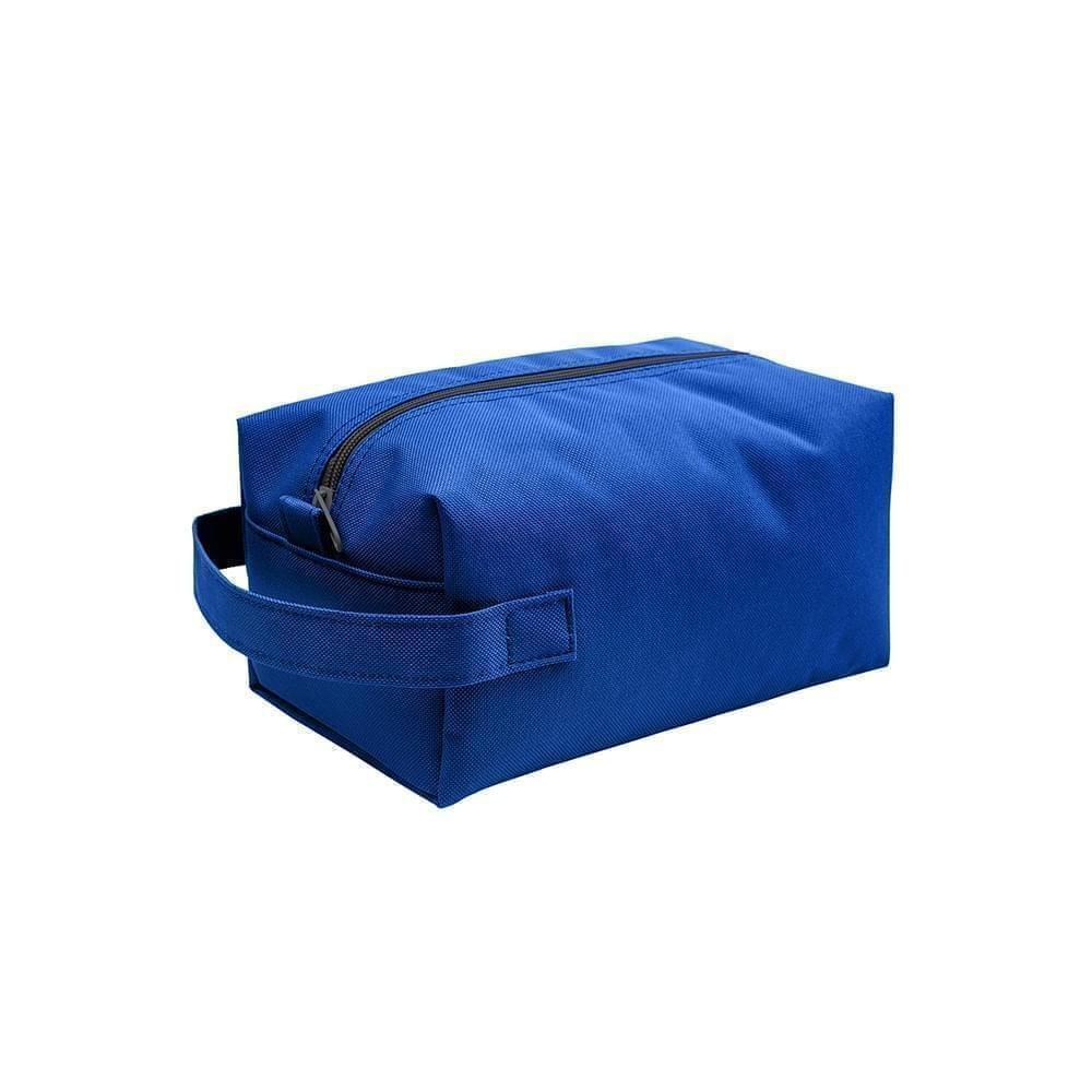 USA Made Nylon Poly Dopp Kits, Royal-Royal, 3001772-A0M