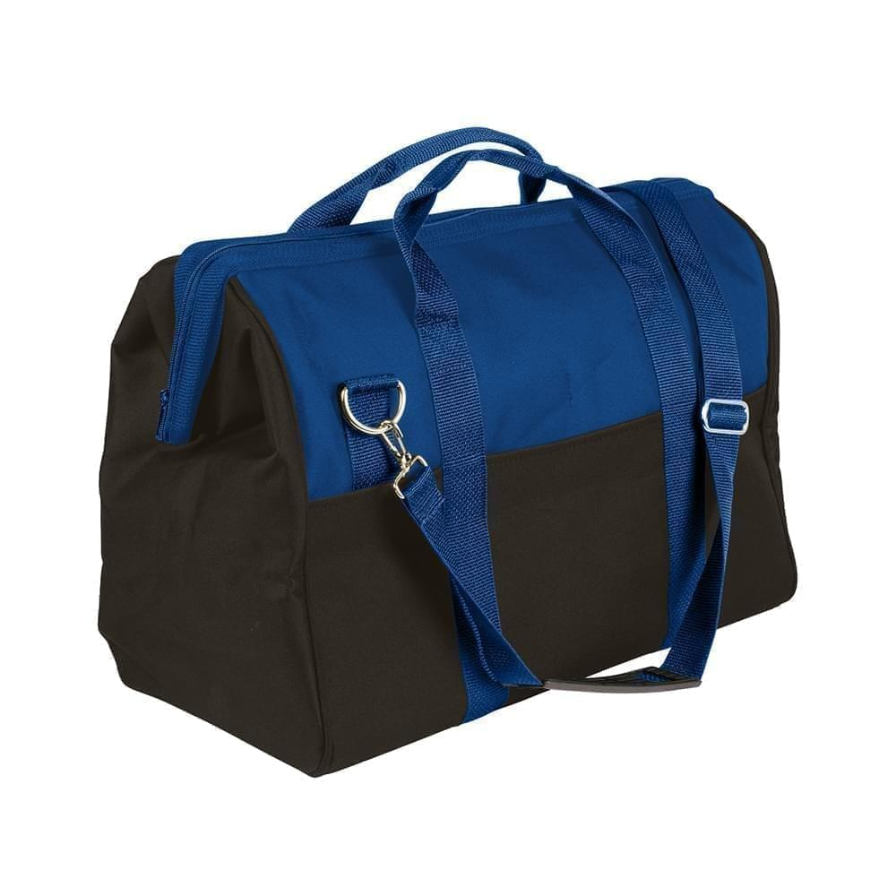 USA Made Nylon Poly Toolbags, Royal Blue-Black, 4001250-A0R
