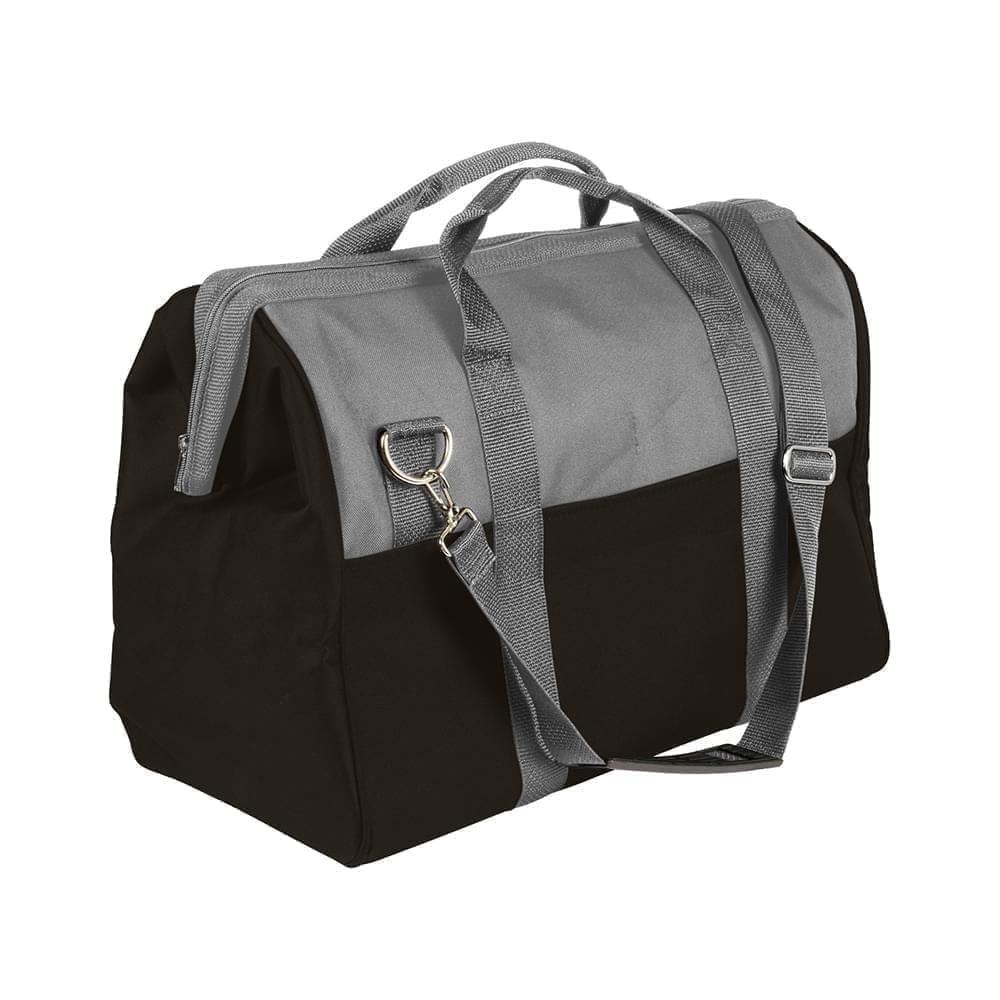 USA Made Nylon Poly Toolbags, Grey-Black, 4001250-A1R