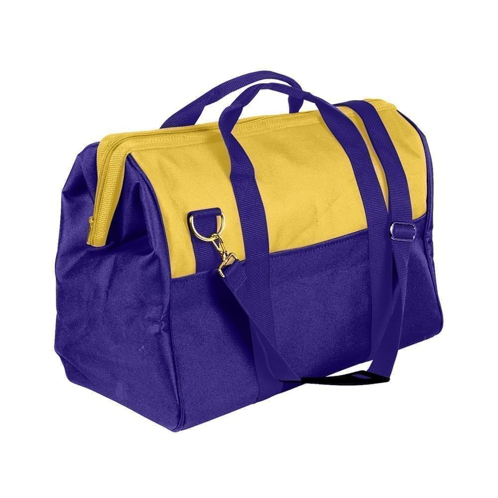 USA Made Nylon Poly Toolbags, Gold-Purple, 4001250-A41