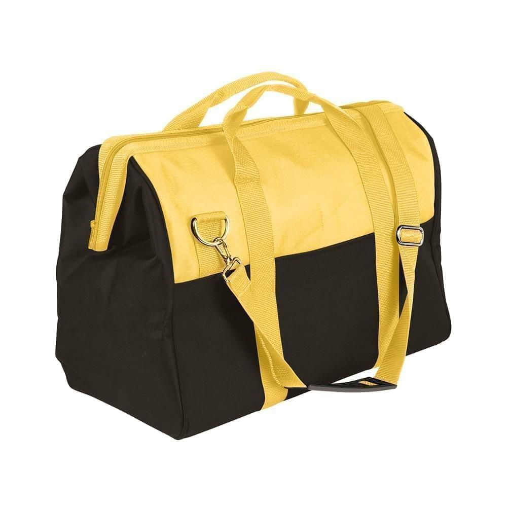 USA Made Nylon Poly Toolbags, Gold-Black, 4001250-A4R