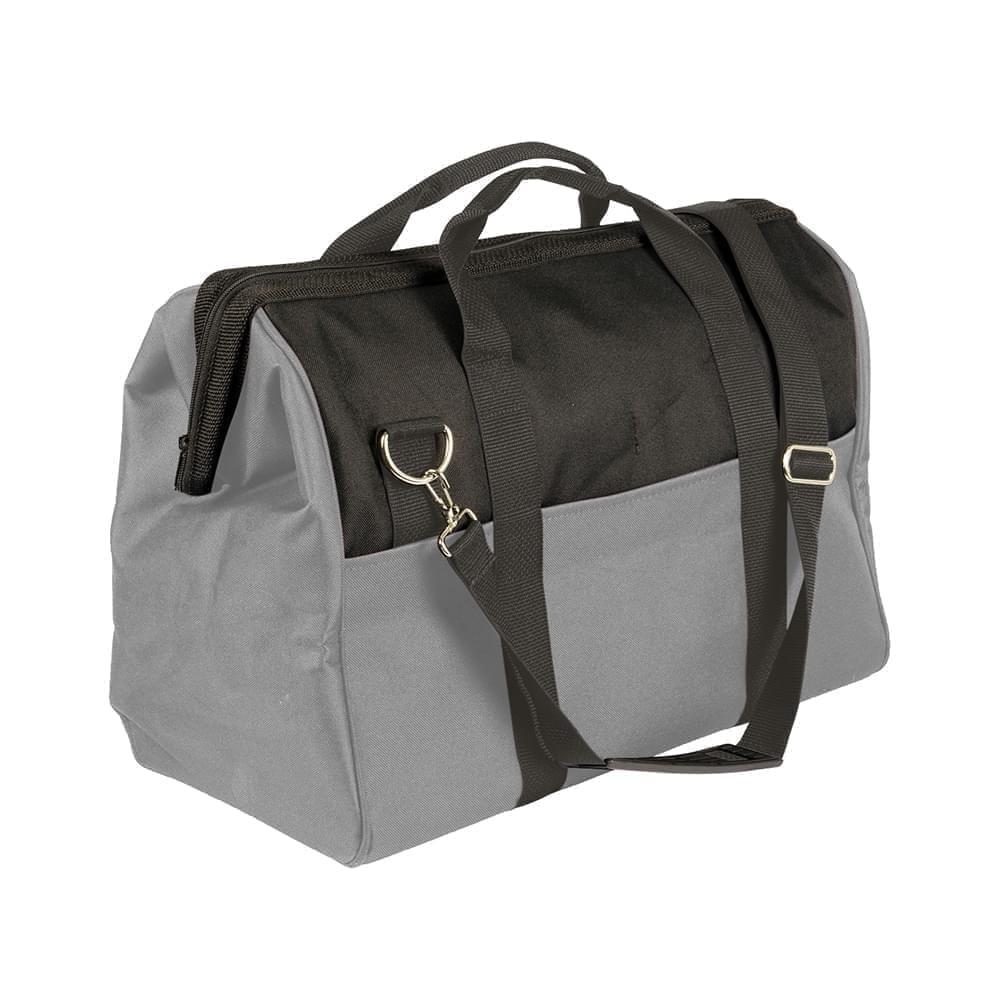 USA Made Nylon Poly Toolbags, Black-Grey, 4001250-AOU