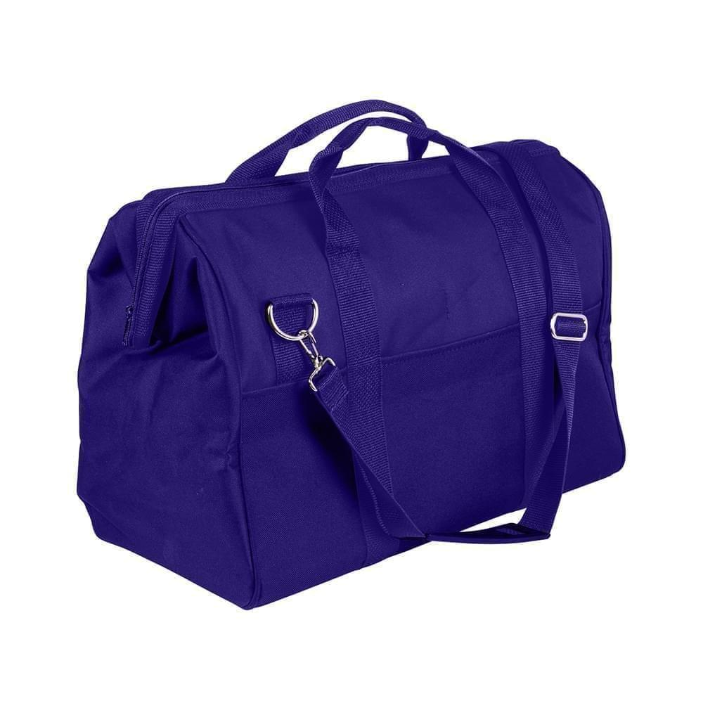 USA Made Nylon Poly Toolbags, Purple-Purple, 4001250-AY1