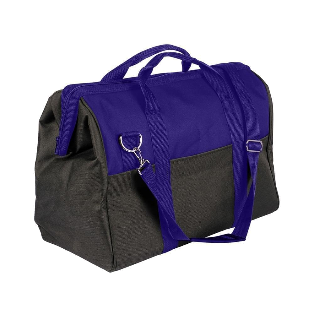 USA Made Nylon Poly Toolbags, Purple-Black, 4001250-AYR