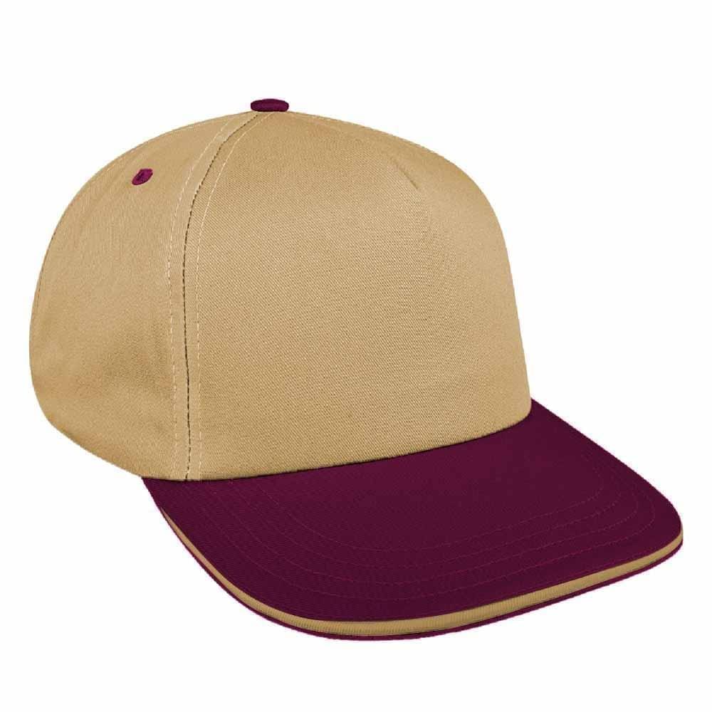Two Tone Sandwich Wool Snapback Skate Hat