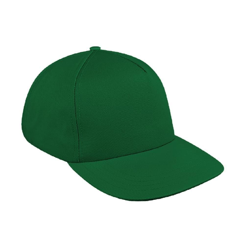 da440c49f Solid Color Wool Leather Skate Hat