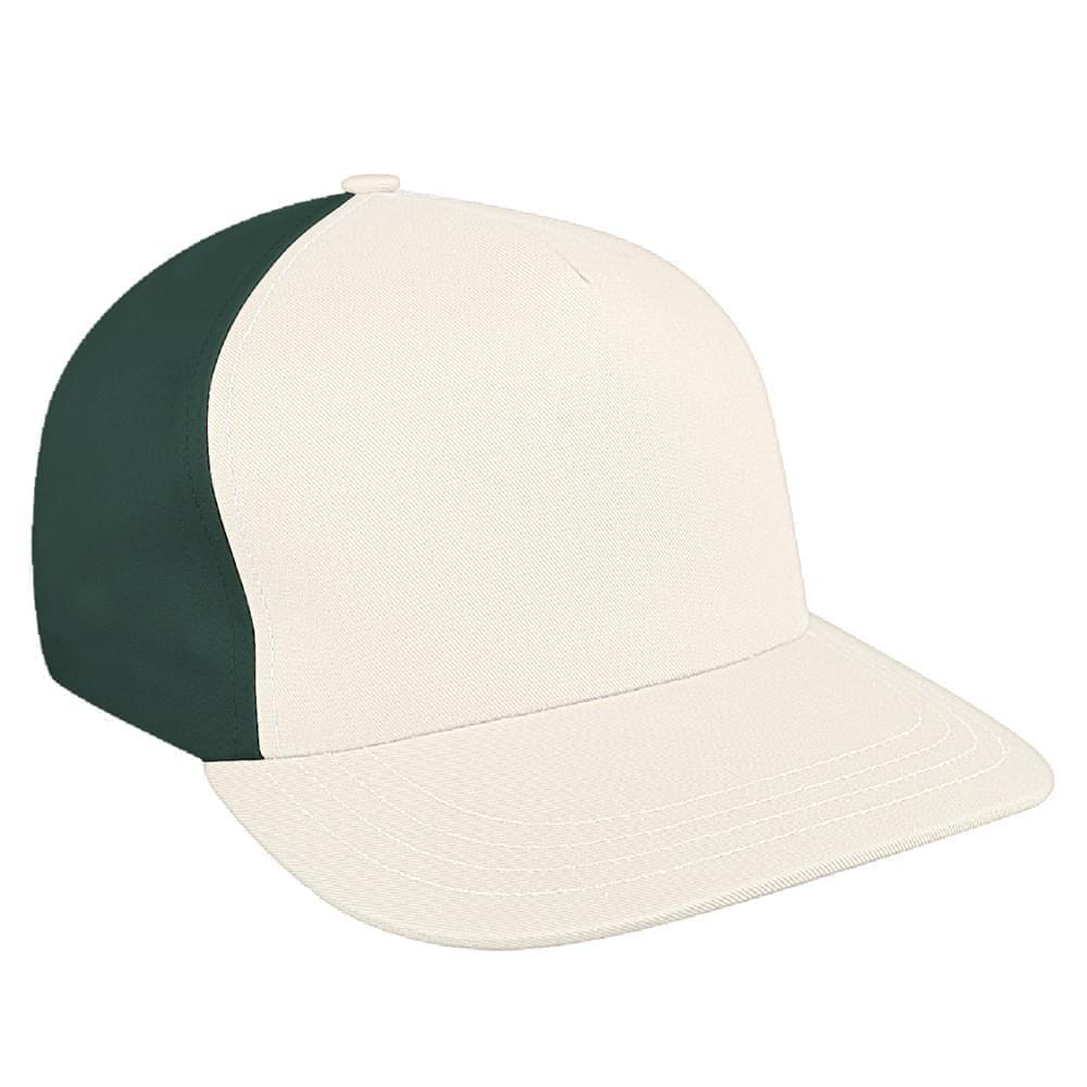 39ea801bdf37a Twill Self Strap Skate Baseball Caps Union Made in US by Unionwear