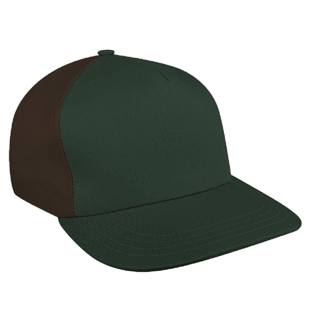 b1b19512b1fdf Denim Self Strap Skate Baseball Caps Union Made in US by Unionwear