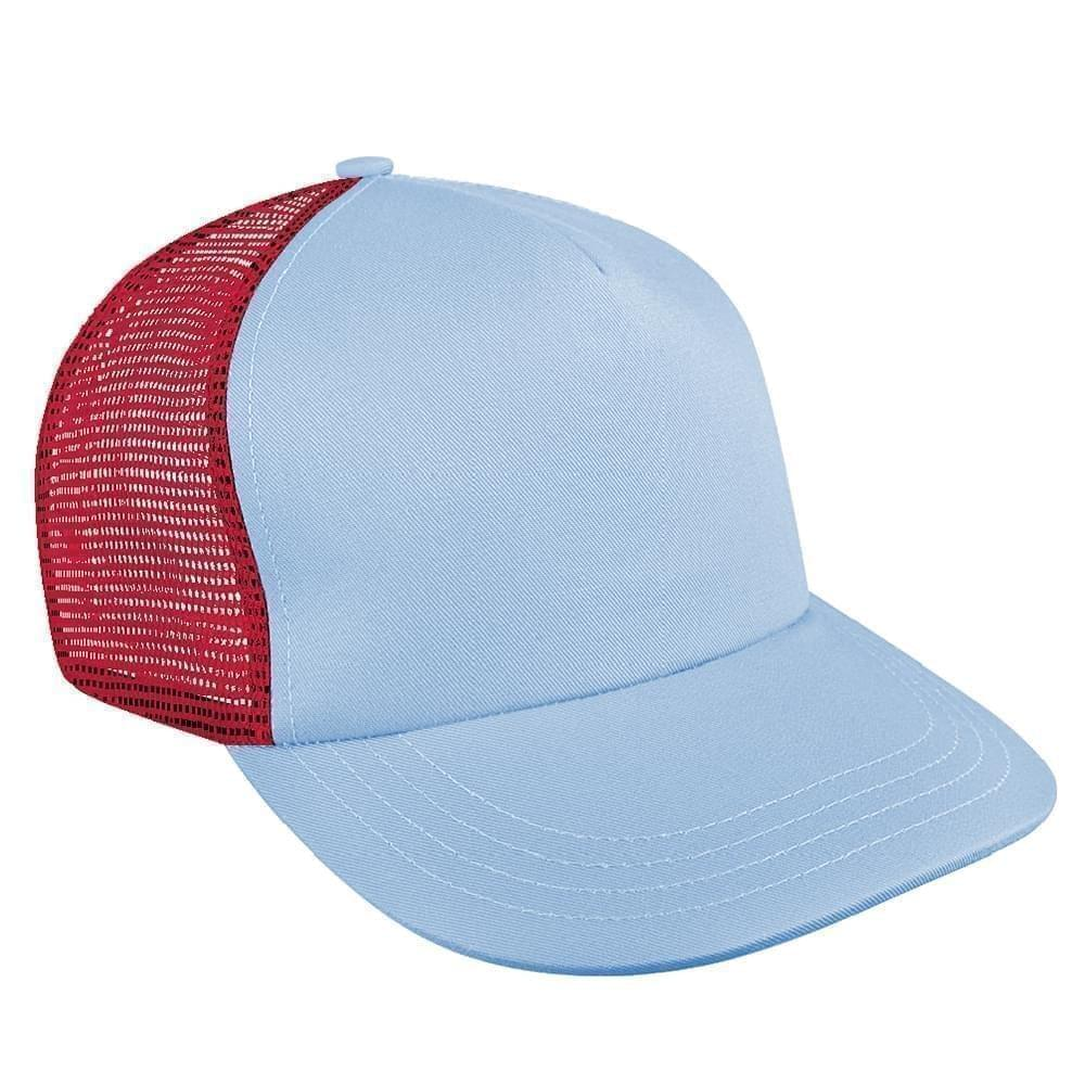 1b63726a10166 Brushed Front Velcro Skate Hats Union Made in America by Unionwear