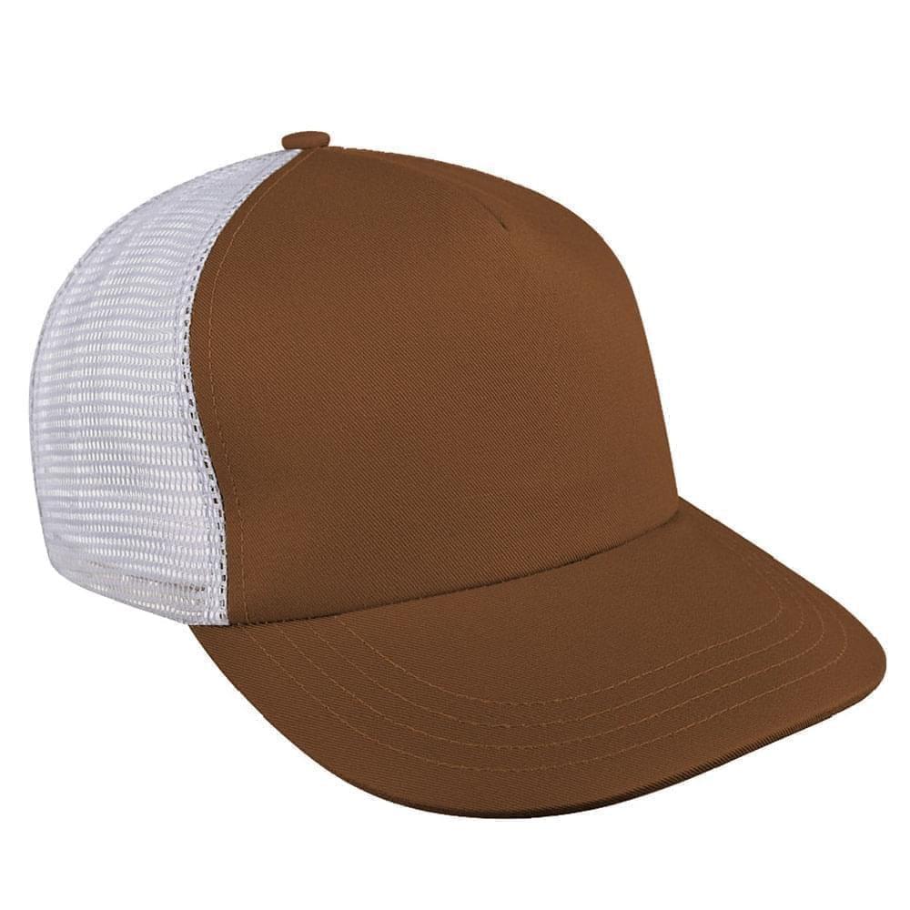 Contrast Mesh Back Meshback Snapback Skate Hat