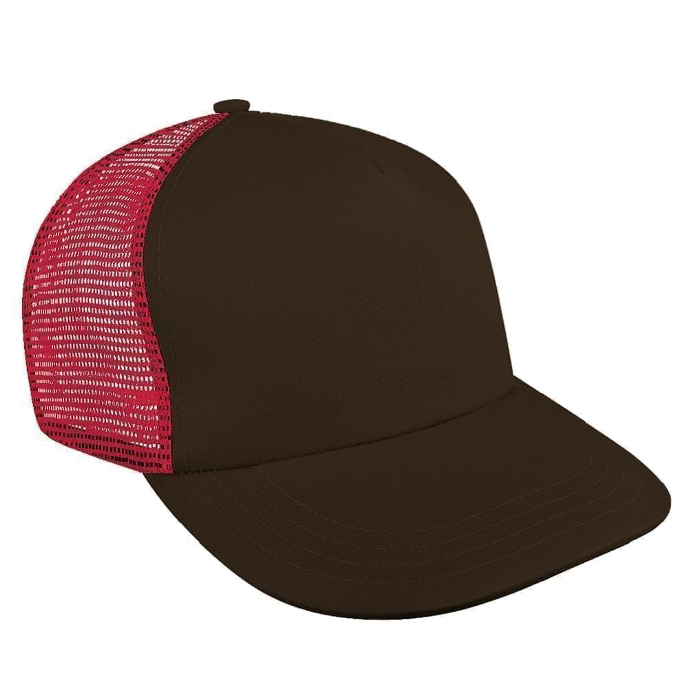 c10900820c5dc Meshback Slide Buckle Skate Baseball Hats Made in USA by Unionwear
