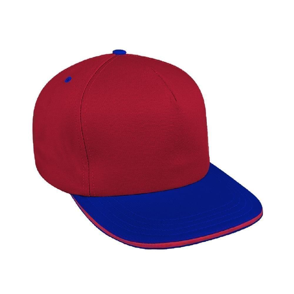 a4091851d56e5 Organic Self Strap Trucker Baseball Caps Union Made in US by Unionwear
