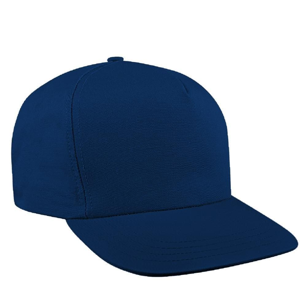 Solid Color Twill Snapback Trucker