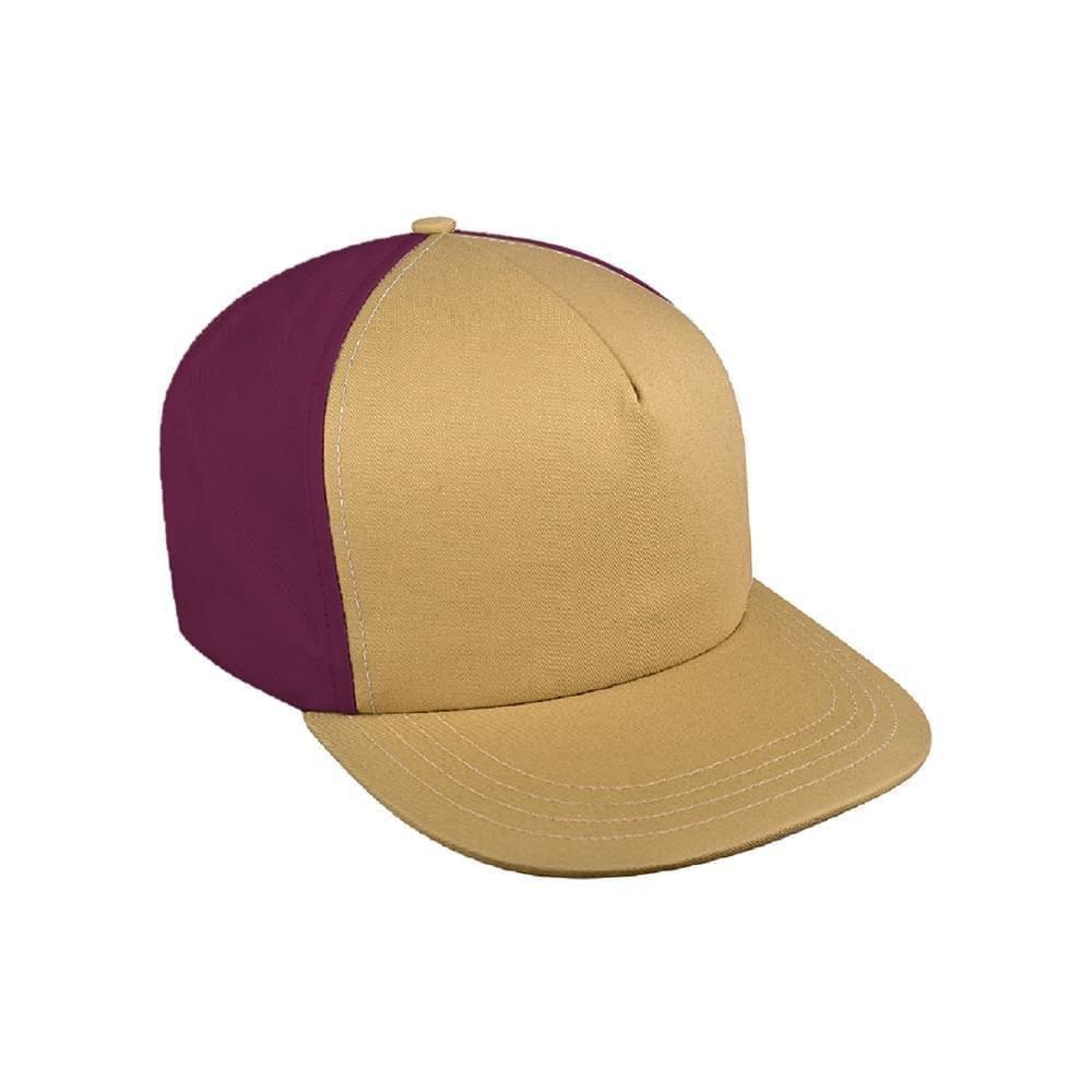 b187e0b61b7da Wool Self Strap Trucker Baseball Hats Union Made in USA by Unionwear
