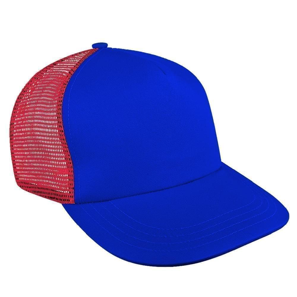 599f9762f258f Brushed Front Velcro Trucker Baseball Caps Union