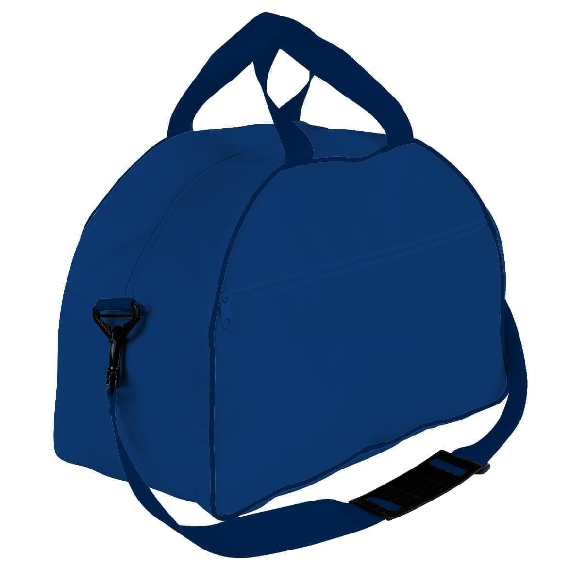 USA Made Nylon Poly Weekender Duffel Bags, Royal Blue-Navy, 6PKV32JA0Z
