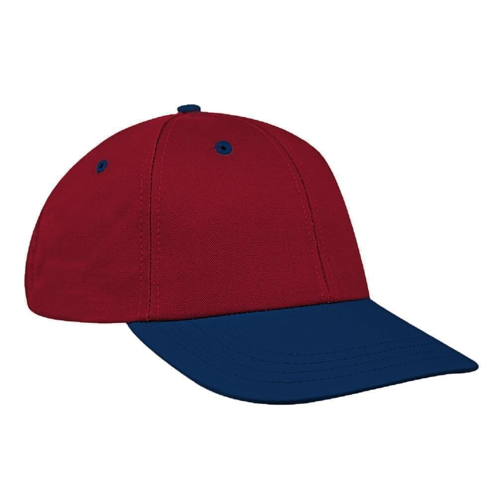 Red-Navy Canvas Velcro Lowstyle