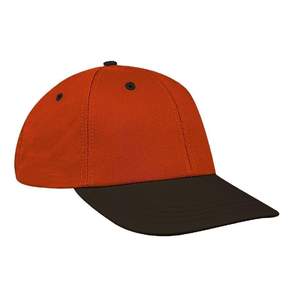Orange-Black Canvas Velcro Lowstyle