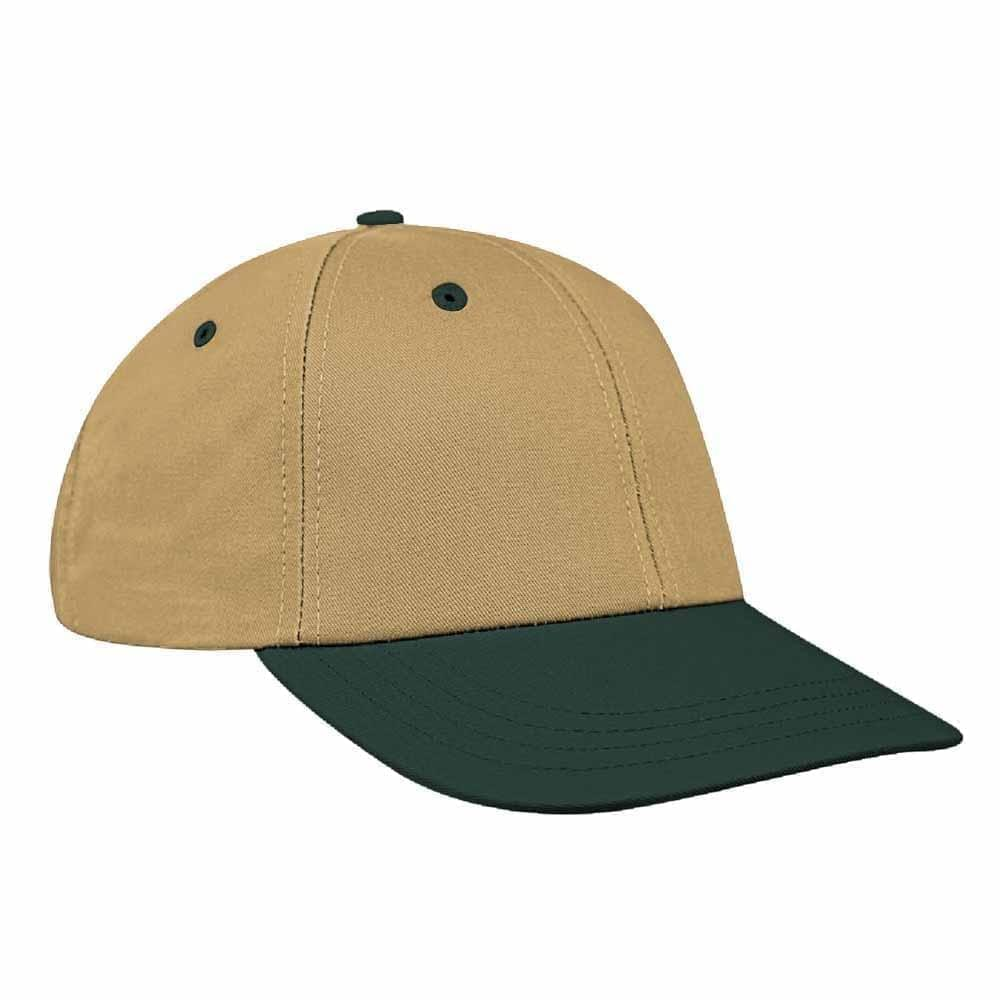 Khaki-Hunter Green Canvas Velcro Lowstyle