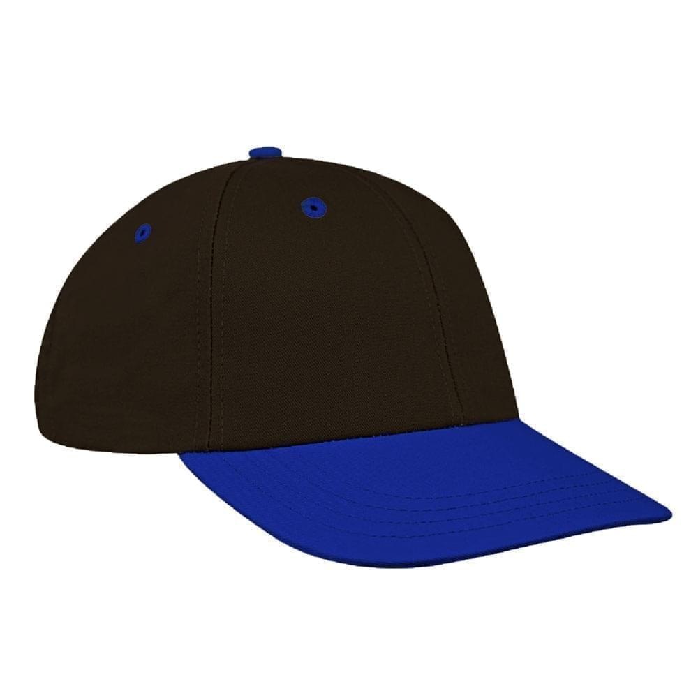 Black-Royal Blue Canvas Velcro Lowstyle