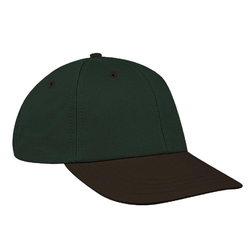 Hunter Green-Black Canvas Snapback Lowstyle